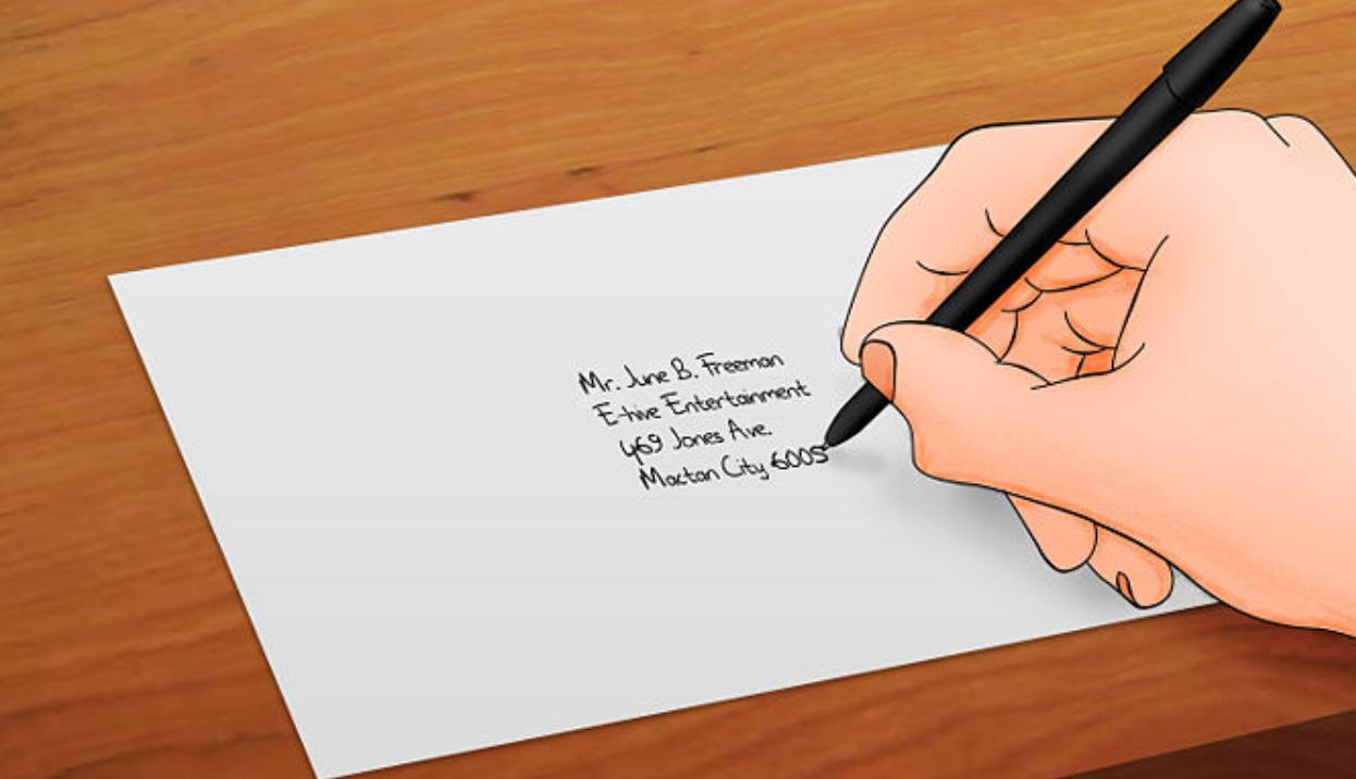Cómo escribir una carta - Sra. MdeE, de la AdeO