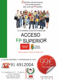Acceso a FP Superior