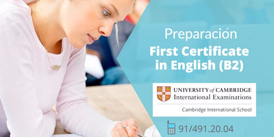 first-certificate-getafe