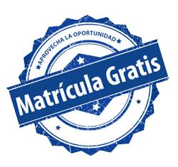 matrícula-GRATIS