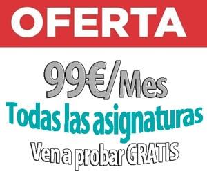 acceso universidad acceso mayores 25 Getafe 99 euros