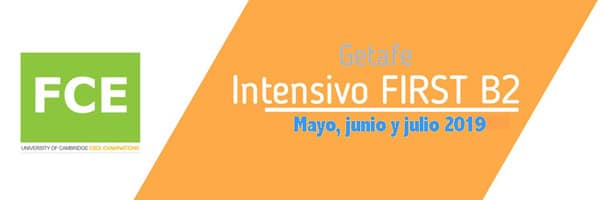 Intensivo curso First B2 en Getafe