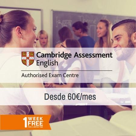 first_cambridge_academia_inglés_getafe